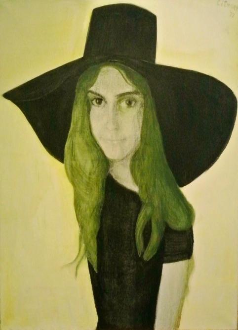 Portret van Marga, 1977, Paul Citroen